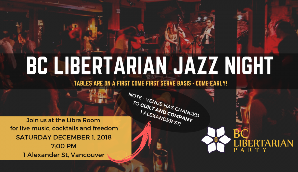 BC Libertarian Party Jazz Night