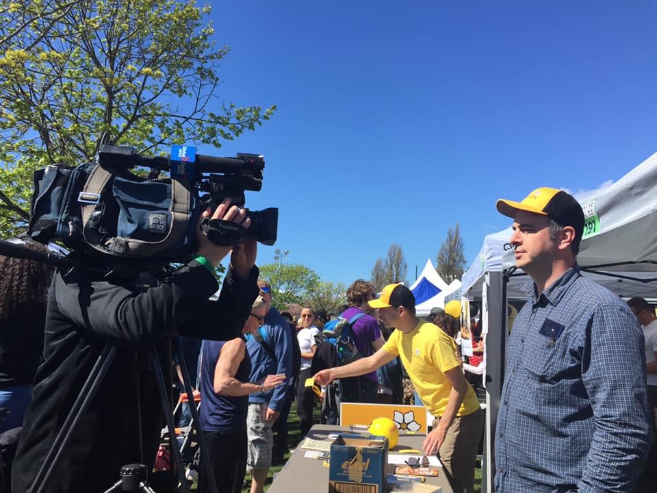 PRESS RELEASE: BC Libertarian Party Storms 420 Vancouver, Calls for Total Overhaul of Broken Cannabis Laws