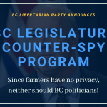 BC Libertarian Party Proposes Using Satellites (And Drones!) To Catch Victoria Politicians Breaking The Rules
